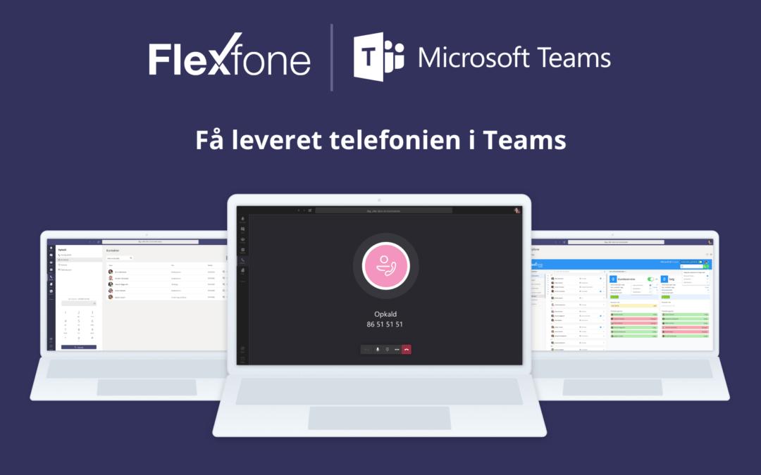 Teams er en del af Flexfone-familien